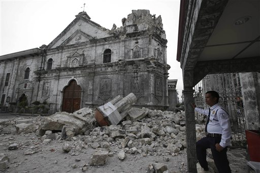 Death Toll in Philippines Quake Reaches 110