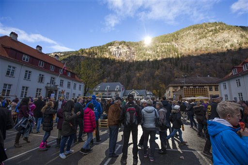 Norway Town Sees Winter Sun for 1st Time