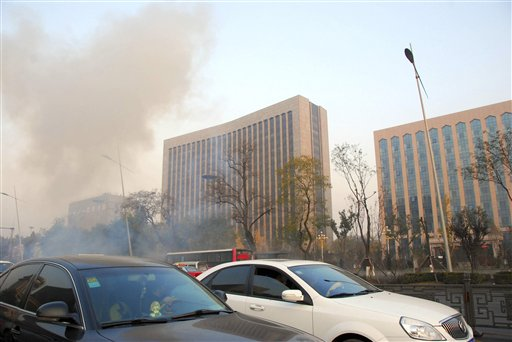 1 Killed, 8 Injured in North China Explosions