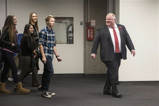 Toronto Mayor Rejects Latest Call to Step Aside