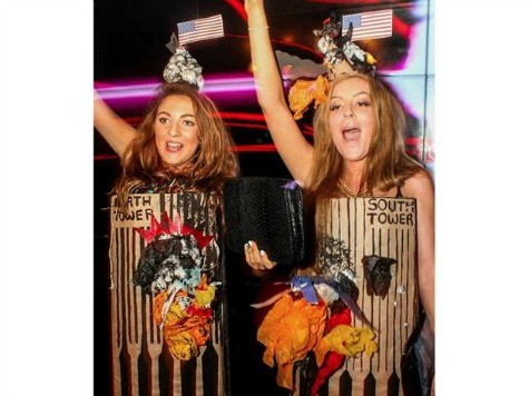 Students Apologize After Winning Costume Contest Dressed as Burning Twin Towers