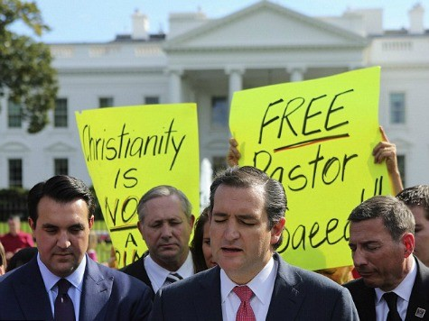 Cruz Leads Effort to Press for Release of American Pastor Imprisoned by Iran