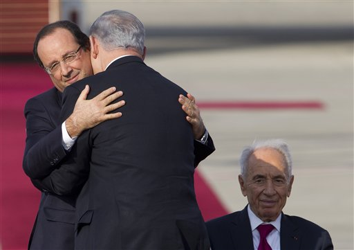 French Détente with Israel: A Troubled Embrace