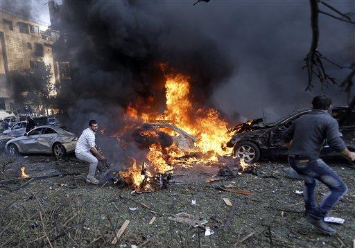 Explosions Near Iranian Embassy in Beirut Kill 20