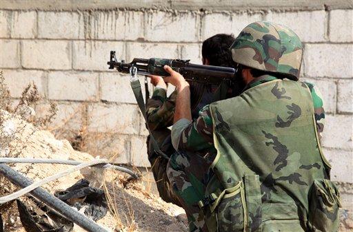 Battle for Syrian Army Base Kills 24 Rebels