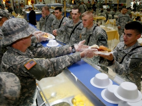 Survey: Fewer Military Families Can Afford Traditional Thanksgiving