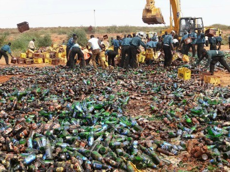 Islamic Police Destroy Beer in North Nigerian City