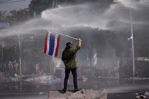 Thai PM Says Protesters' Demands Unacceptable