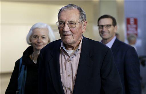 US Vet Merrill Newman, 85, Home from North Korea