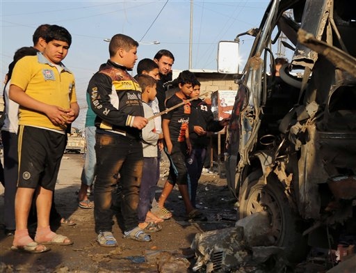 Car Bomb, Roadside Bombings Kill 15 in Iraq