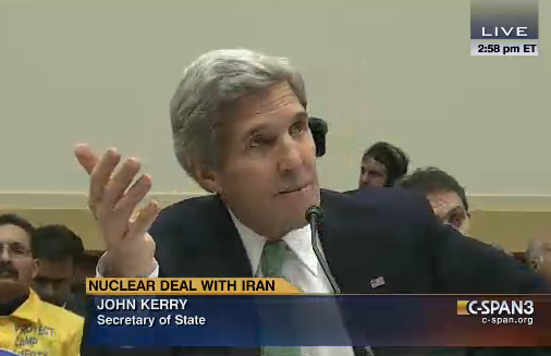House Grills Kerry on Iran Deal
