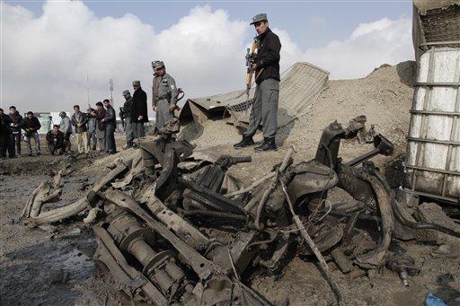 Car Bomb Hits near NATO Gate at Kabul Airport