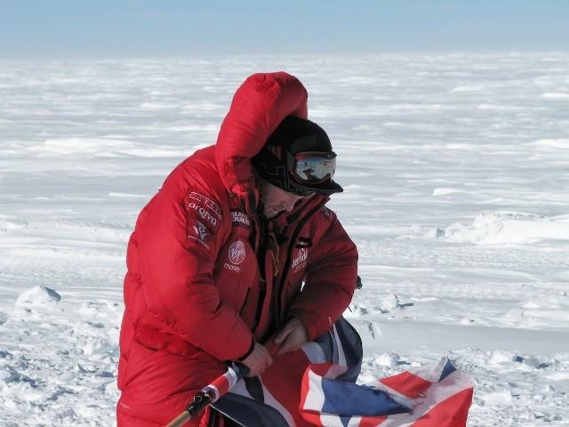 Prince Harry, Trek Teams Reach the South Pole
