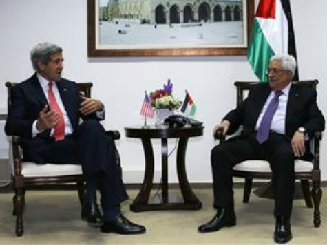 Palestinian President Abbas Rejects Kerry's Border Proposal
