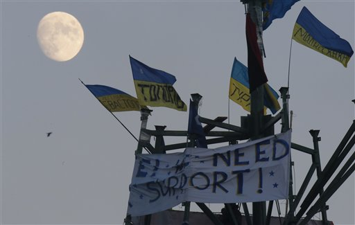 Ukraine's Capital Girds for Major Demonstrations