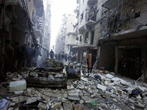 World View: Syria's Air Force Drops 'Barrel Bombs' on Aleppo Neighborhoods