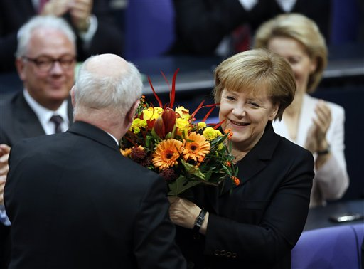 Germany's Merkel Starts 3rd Term in New Coalition