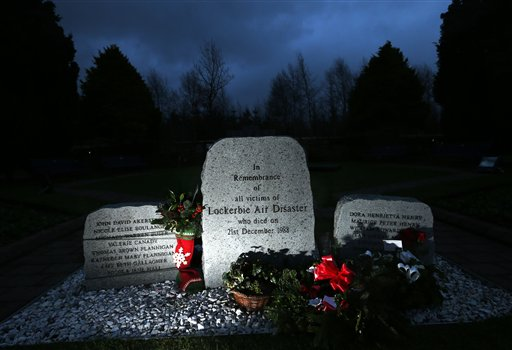 Memorials Mark Lockerbie Attack Anniversary