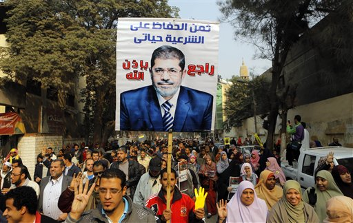 Egypt Refers Ousted Morsi to Third Trial