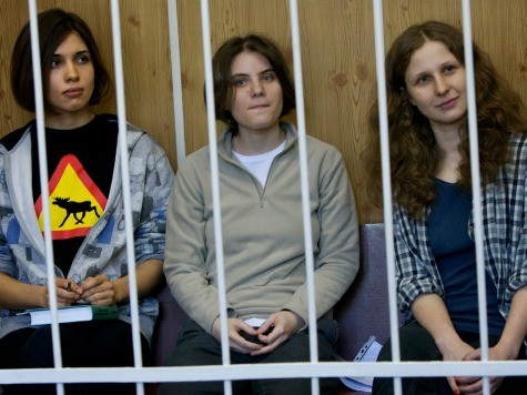 Freed Pussy Riot Punk: Russia Built Like a Prison Camp