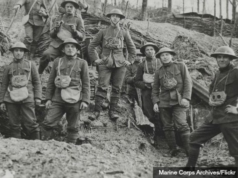 European Nations Clash over World War One Centennial
