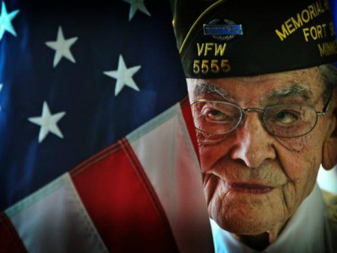 94 Year Old WW II Vet Still Performs Flag-Bearing Duties to Honor Vets