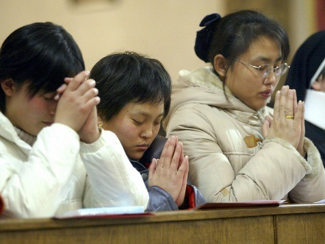 China on Course to Become 'World's Most Christian Nation' Within 15 Years
