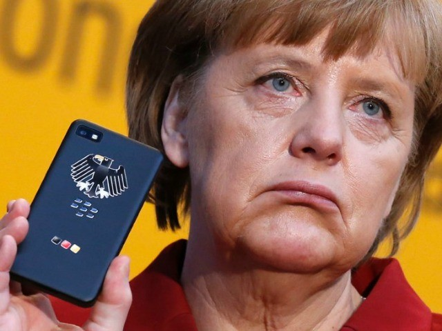 Chancellery: US May Be Spying on Merkel's Mobile Phone