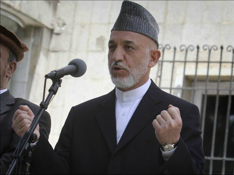Karzai Says Afghan Forces Can't Request Airstrikes
