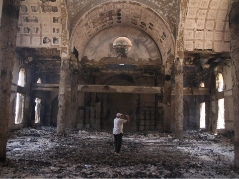 Egyptian Military Orders Christian Churches Rebuilt