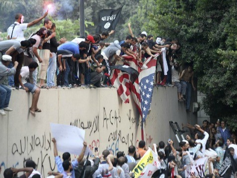 US Eyes Cairo Embassy Security amid Egypt Unrest