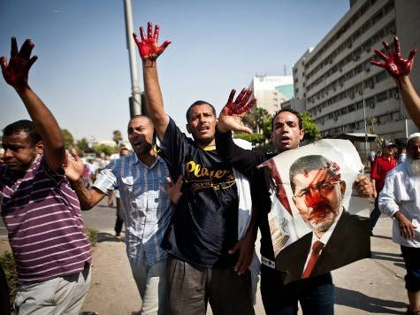 NYT: Outlawed Muslim Brotherhood Remains Threat to Egypt