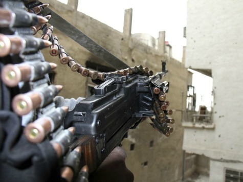 Report: Congress Secretly Approved Arms for Syrian Rebels