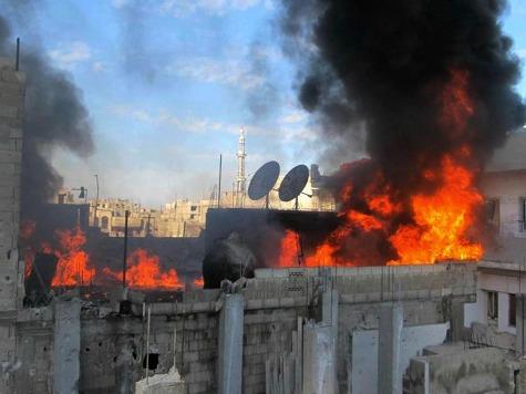 Syria Regime Unleashes Artillery Barrage on Qusair