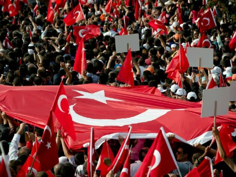 Turkey May Day Protests Met With Tear Gas, Police