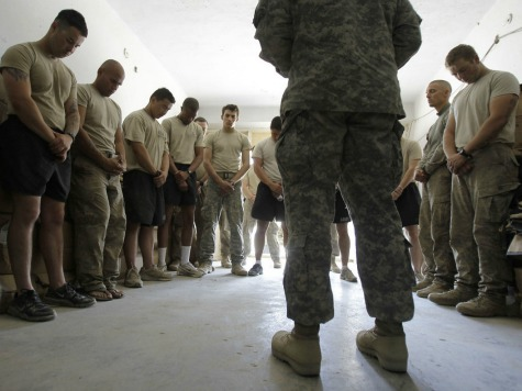 Report: Hostility Toward Christianity Grows in the Military