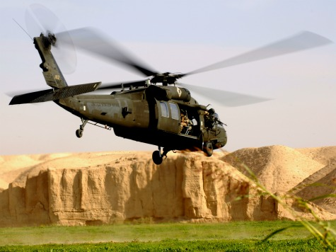 US Black Hawk Chopper Crashes Near N. Korea Border