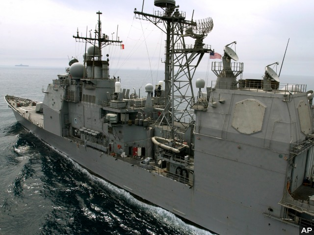 Chinese, U.S. Warships Face Off in South China Sea