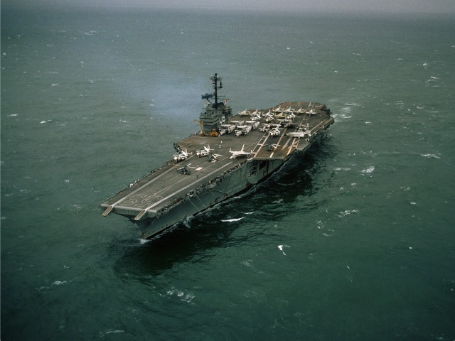 U.S. Navy's First Supercarrier, USS Forrestal, Sold for One Cent