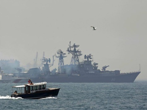 World View: Russian Warships Enter Mediterranean for First Time in Decades