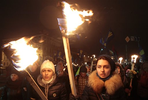15,000 Nationalists March in Kiev