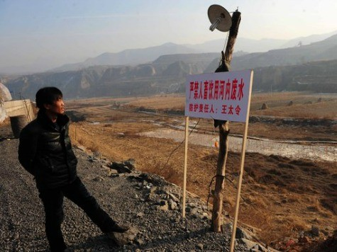 Pollution in China's Farmland Triggers Food Shortage Concerns