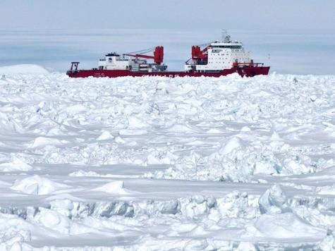 China's Ice-Stuck Ship Inspiring Construction of Stronger Icebreaker