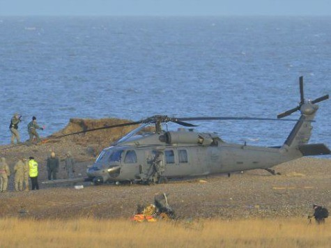 U.S. Air Force Helicopter Crashes in UK, Four Crew Members Reportedly Killed