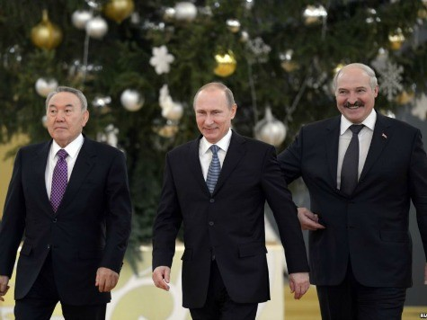 Putin Seeks to Create Post-Soviet 'Eurasian' Economic Union
