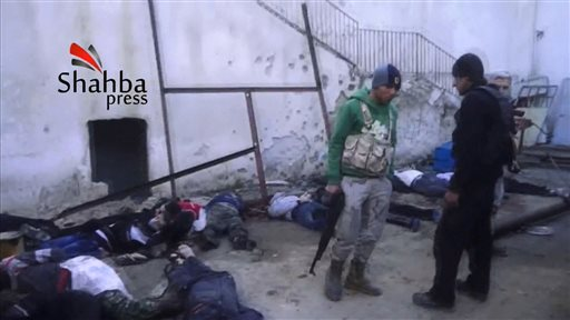 Activists: Nearly 700 dead in Syrian rebel clashes