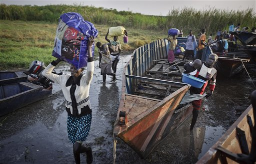 200 Fleeing S. Sudan Violence Die After Boat Sinks