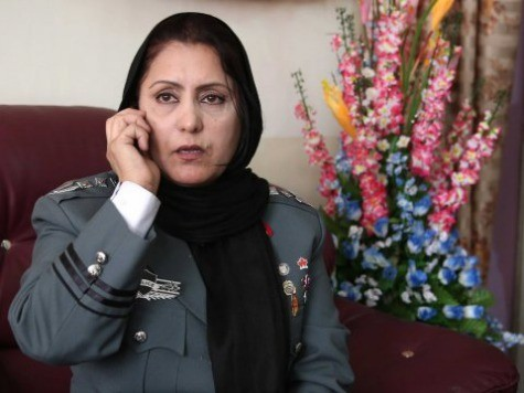 Afghanistan Promotes First Female Police Chief