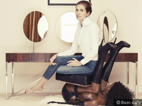 Russian Billionaire's Girlfriend Sparks MLK Day Outrage with Naked Black Woman Chair