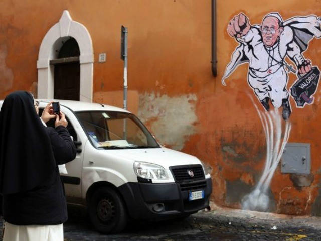 Move Over Superman, It's Time for … 'Superpope'